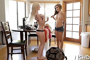 Hot lawful age teenager girls expose their induce bodies for the casting