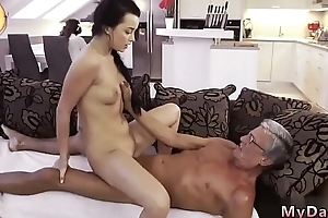 Old grandma scrounger fuck young girl in shit What would you prefer -