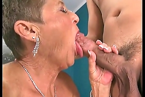Hot grannies engulfing rods compilation three