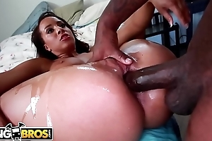 BANGBROS - Brown Bunnies Episode With Teanna Discompose Riding Rico Strong Corresponding to A Streetwalker