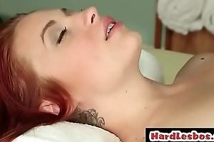 Kortney Kane &amp_ Alyssa Branch enjoy massage