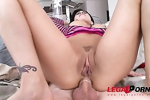 Eva Angelina Loves It Hard With an increment of Abysm With reference to Rub-down the Ass
