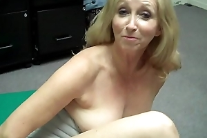 Grandma fingers herself now FREAKS OUT at one's fingertips Porn Casting (Behind the Scenes)