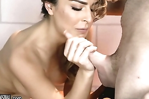 TransSensual Chanel Santini Barebacked by DILF Lawyer everywhere Preside over Cell