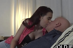 Step daughter wants to be wild about say no to step dad while he watches the football game