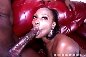 Lady luck xxx gives a sloppy irrumation labour pleasure excitement and acquires f...