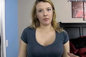 Blackmailing my preggo breast-feed
