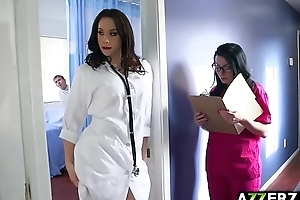 Hot doctor chanel triad fuck to slay rub elbows with fore hospital