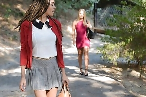 BlackValleyGirls- Waxen Piece of baggage Gets Dumped For Preppy Ebony Teen
